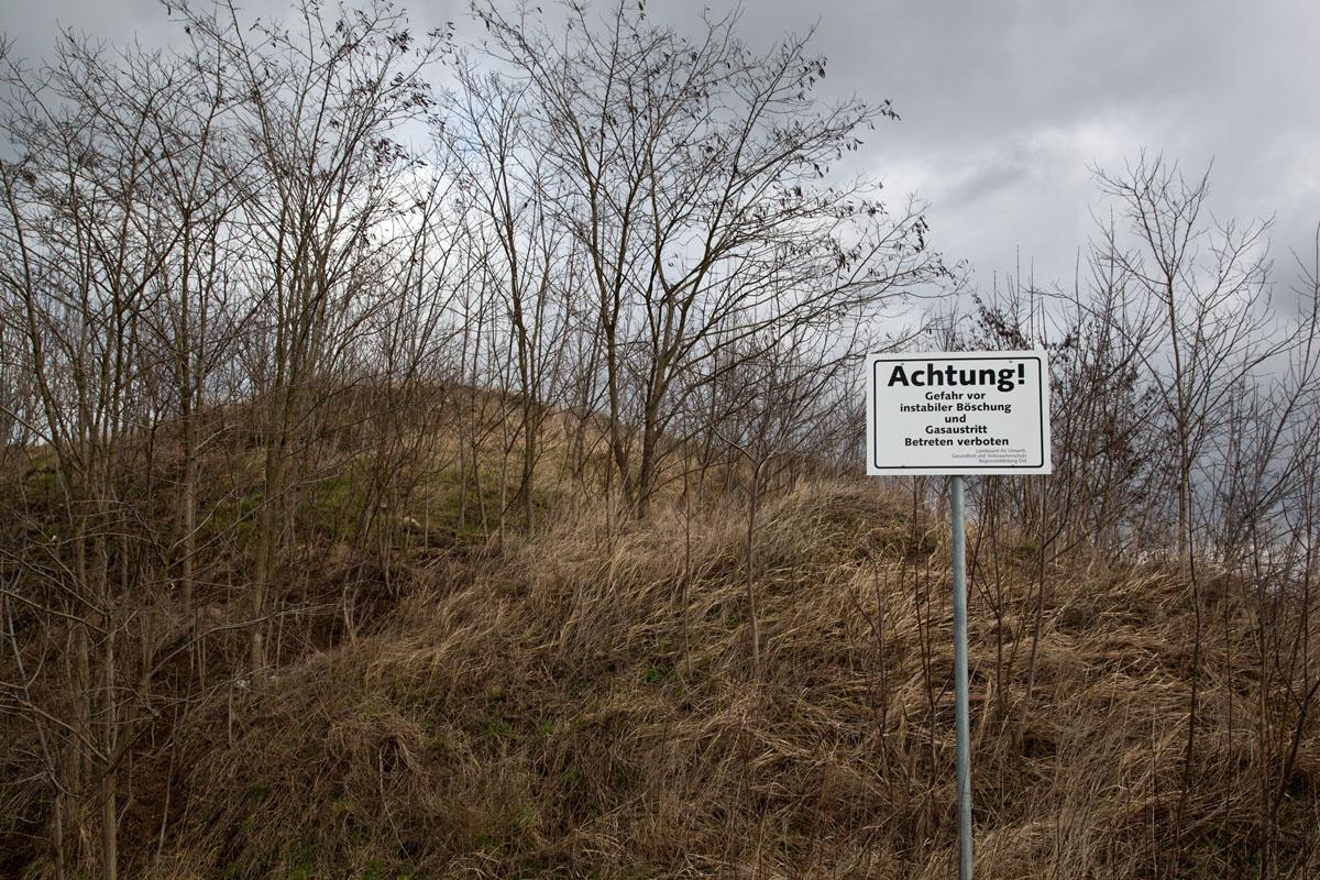 illegale Deponie, GEAB, Bernau
